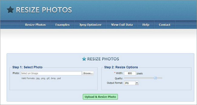 Resize Photos